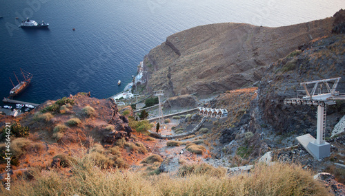 Teleferica of Thira
