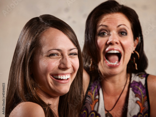 Pair of Ladies Laughing
