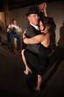 Woman and Man in Tango Dance