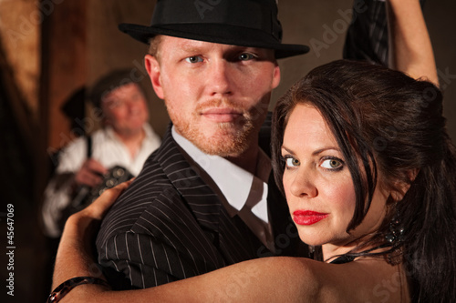 1920s Style Couple Dancing