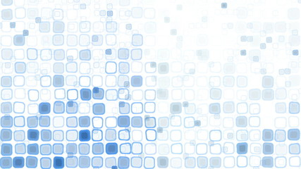 blue liquid squares loopable pattern animation