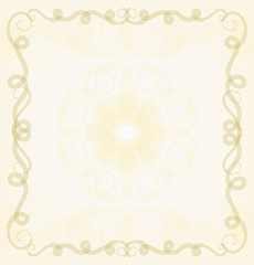Decorative frame, vector