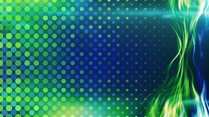 blue green energy light beam flowing loop