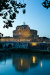 Roma, Castel Sant'Angelo al crepuscolo