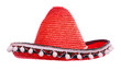 Red mexican sombrero.