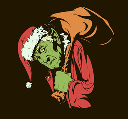 """Fairy tale characters: """"How the Grinch Stole Christmas."""""""