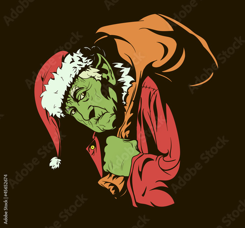 "Fairy tale characters: ""How the Grinch Stole Christmas."""