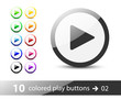 Play Button / Icon Set 02