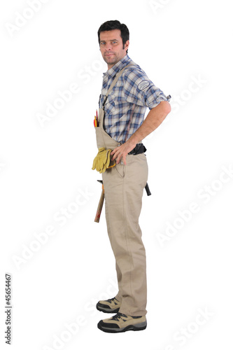Full length handyman