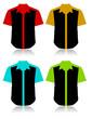 Chemises colorées