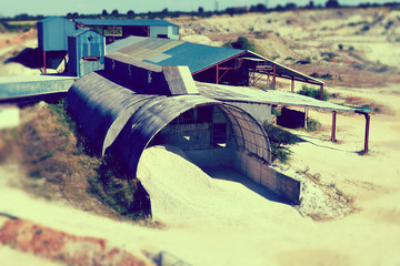 gravel pit factory