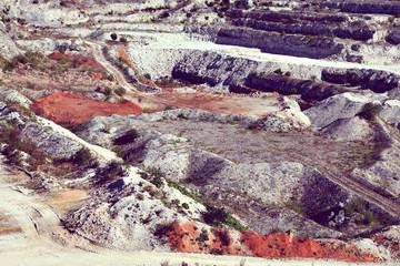 gravel pit quarry