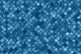 Blue wall tiles background - 45657631