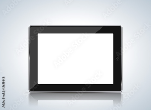 tablet white screen