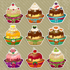 Set dessert