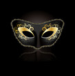 Venetian mask concept for woman