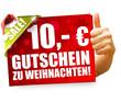 10 Euro Gutschein zu Weihnachten!