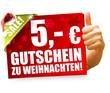 5 Euro Gutschein zu Weihnachten!