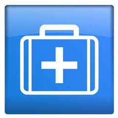 Icon blau Arztkoffer