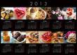 Calendrier 2013 desserts-1