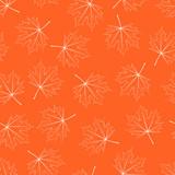 Filigree Maple Leaf Seamless poster
