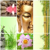 Fototapety bambou bouddha zen
