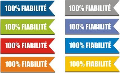 étiquettes 100% fiabilité