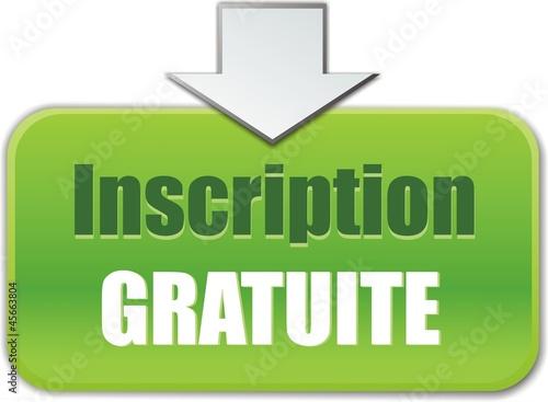 bouton inscription gratuite