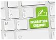 clavier inscription gratuite