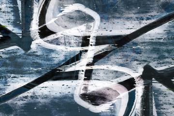 Grunge graffiti background