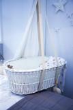 child basket in room