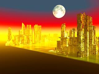 City after war