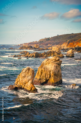 Big Sur rocks