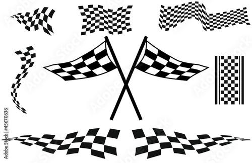 Rennflaggen Dekore - 45670636