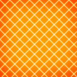 Gird on orange background poster