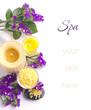 Spa  lifestill  with flower