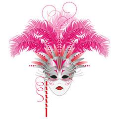 Carnival Mask - Masquerade, Venetian, Mardi Gras
