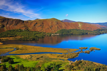 Catbells in the English Lake District