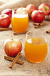 Fresh Organic Apple Cider