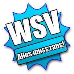 """Siegel """"WSV - Alles muss raus!"""""""