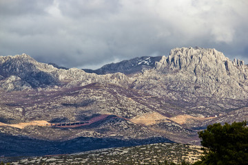 A1 Highway, Croatia - Velebit mountain road