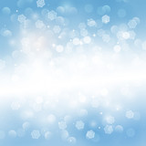 Fototapety Lighten winter background