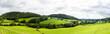 Leinwandbild Motiv Panorama of welsh countryside
