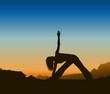 Yoga Silhouette