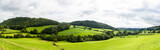 Fototapety Panorama of welsh countryside