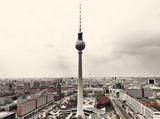 Fototapety Apocalyptic View of Berlin Skyline
