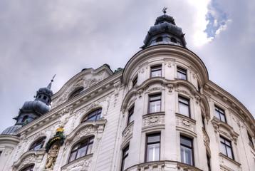 Historic Viennese architecture