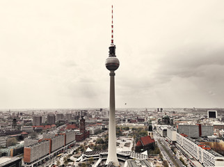 Apocalyptic View of Berlin Skyline