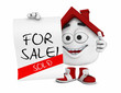 Kleines 3D Haus Rot - For Sale! Sold