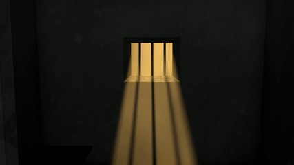 Concept animation, prison.